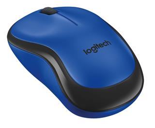 Logitech Wireless M220 Silent modrá