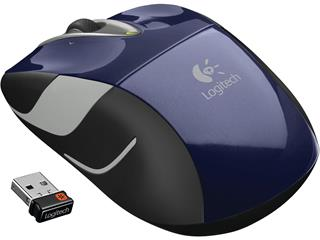 Logitech Wireless Mouse M525 modrá