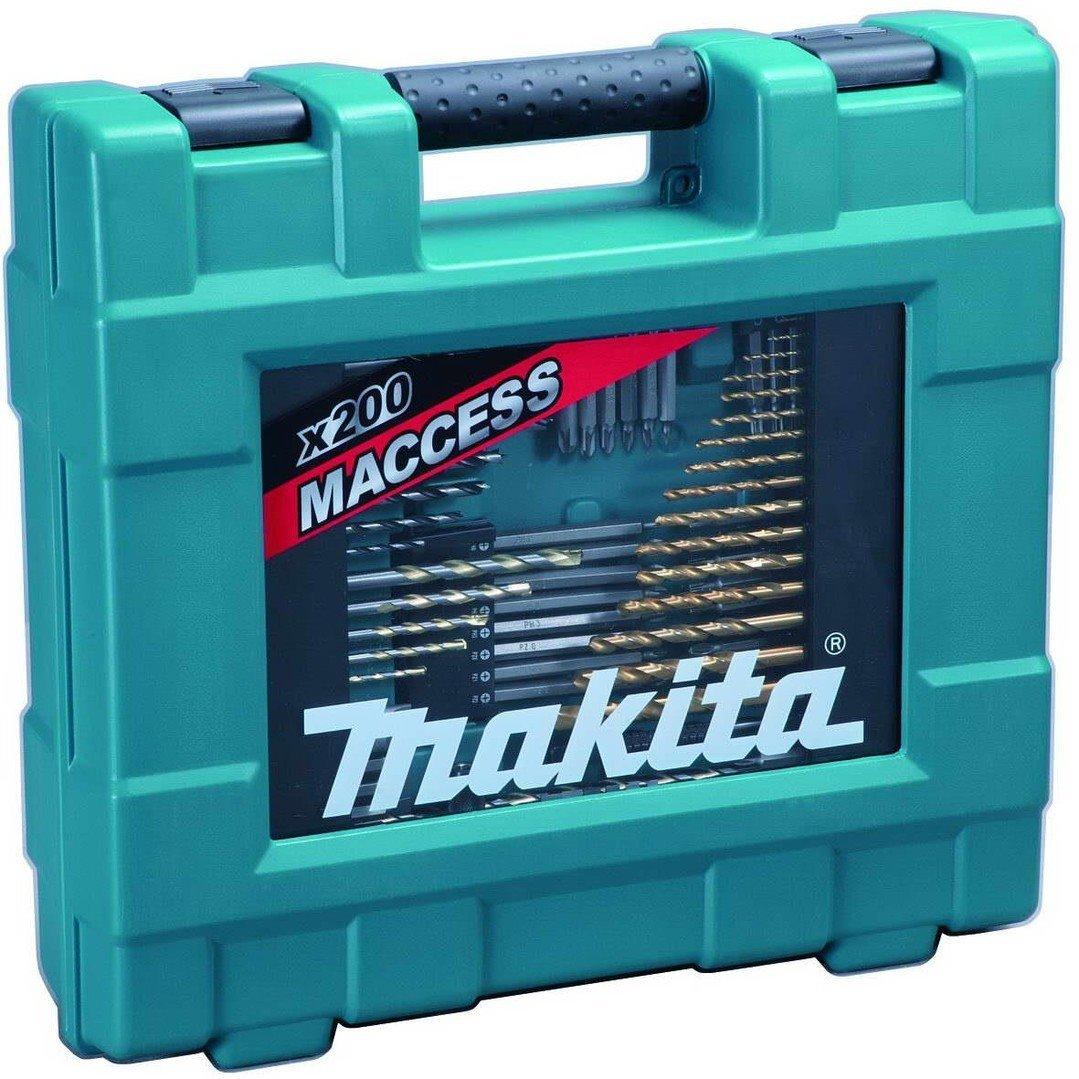 Makita D-37194 Sada vrtáků a bitů 200ks