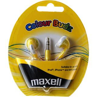 Maxell 303363 COLOUR BUDZ GOLD žlutá