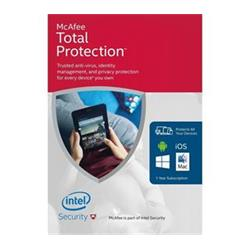McAfee Total Protection 2016 1 rok (MTP166009RKA)