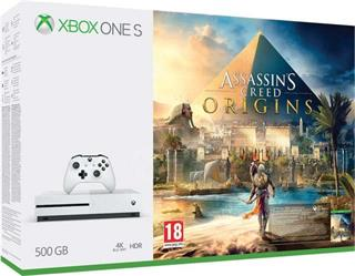 Microsoft XBOX ONE S 500GB + Assassin's Creed: Origins