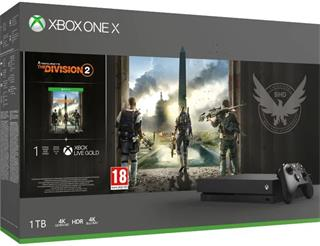 Microsoft XBOX ONE X 1TB + The Division 2