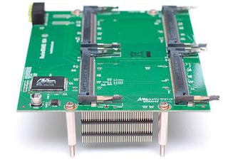 MikroTik RouterBOARD RB604, Daughterboard pro RB800, 4x miniPCI slot