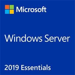 MS OEM Windows Server Essentials 2019 x64 ENG 1pk DVD 1-2CPU