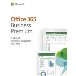 MS Office 365 Business Premium CZ (KLQ-00413)