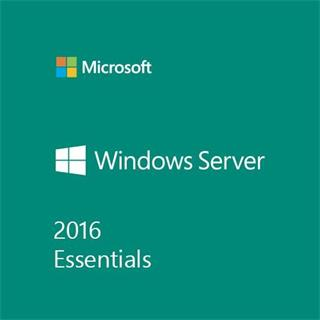 MS Win Svr Essentials 2016 64Bit Czech 1pk DSP OEI DVD 1-2CPU