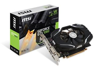 MSI GeForce GTX 1060 6G OC