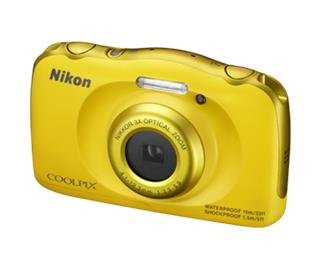 Nikon COOLPIX S33 Yellow Backpack kit (VNA853K001)