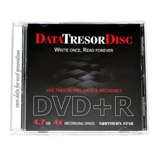 Northern Star Data Tresor Disc DVD+R 4.7GB 4x 1ks