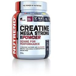 Nutrend CREATINE MEGA STRONG POWDER, 500g, punč+lesní plody