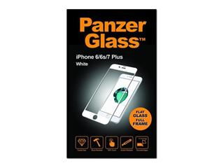 PanzerGlass pro iPhone 6/6s/7/8 Plus(full frame) Bílé sklo Case Friendly (2621)