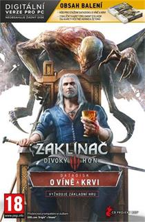 PC The Witcher 3: Divoký hon - O Víně a Krvi