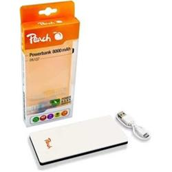 Peach Powerbank PA107, 8000 mAh, Dual Port