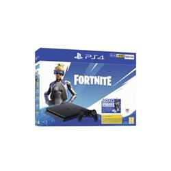 PlayStation 4 Slim 500GB, černá + voucher do Fortnite