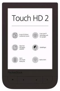 PocketBook 631+ Touch HD 2, Dark Brown