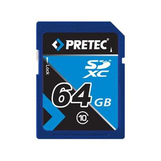 Pretec SDXC 64GB, class 10 - Full HD Video Card