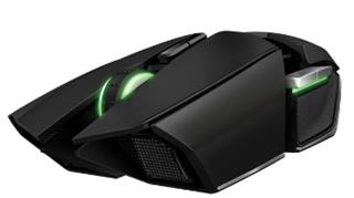 Razer Ouroboros, 8200dpi, USB Wireless Gaming Mou