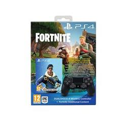 Sony PS4 Dualshock 4 v2 černý + voucher do hry Fortnite