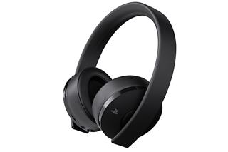 Sony PS4 Gold Wireless Headset
