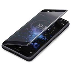 SONY SCTH50 Style Cover Touch pro Xperia XZ2 Compact Black