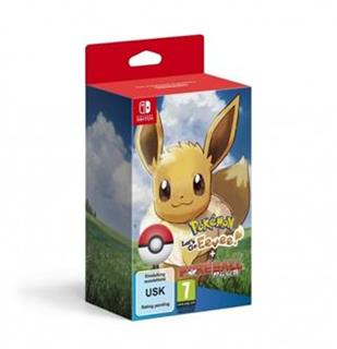 Switch - Pokémon Let's Go Eevee! + Poké Ball Plus