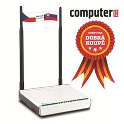 TENDA W309R Wireless-N Router, 802.11b/g/n, 2,4 GHz, 300 Mb/s, 1x WAN, 4x LAN, 2x Ext. Ant. 7 dBi
