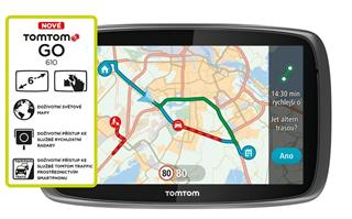 TomTom GO 610 World, LIFETIME mapy