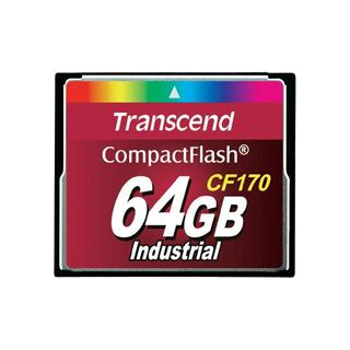 Transcend Compact Flash 64GB 170x Industrial (TS64GCF170)