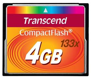 Transcend CompactFlash 133x 4GB
