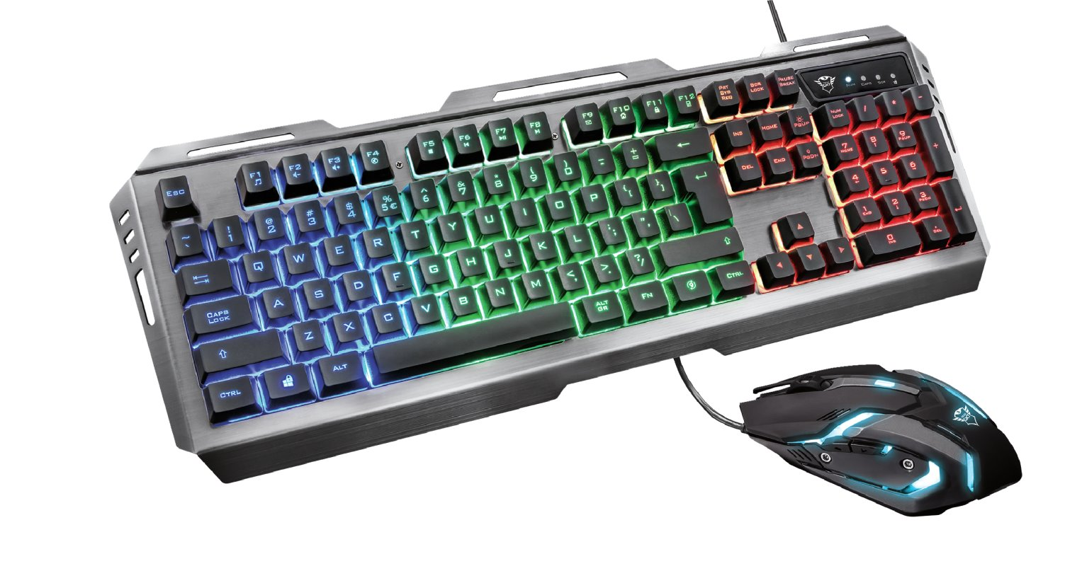 Trust GXT 845 Tural Gaming Combo, ENG