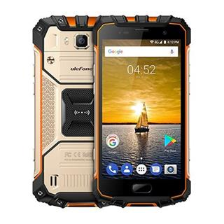 "UleFone smartphone Armor 2 5"" Golden 6/64GB Android 7 4G LTE"