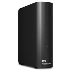 "WD Elements Desktop 4TB Ext, 3,5"" USB3,0, Black"