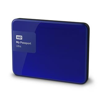 WD My Passport Ultra 1TB Modrý