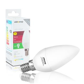 Whitenergy LED E14 C30 5W SMD2835 teplá