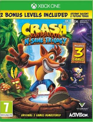 XBOX ONE Crash Bandicoot N.Sane Trilogy